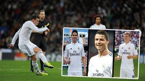 Bale mới đây đã có bàn thắng từ cú sút xa rất đẹp làm tung lưới Inter Milan