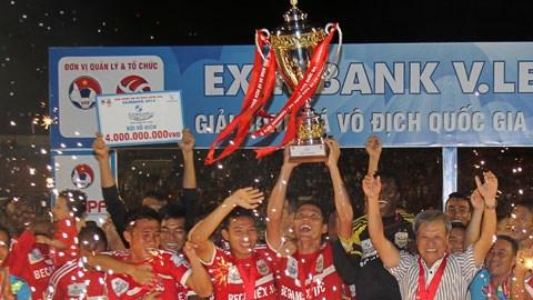 B.BD đã lên ngôi vô địch ở V-League 2014