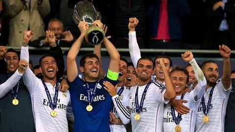 Real Madrid giành Siêu cup châu Âu một cách xứng đáng