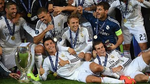 Real giành danh hiệu Siêu Cúp châu Âu 2014