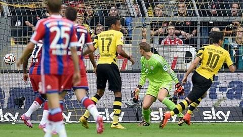 Dortmund 2-0 Bayern Munich (Siêu cúp Đức 2014): Chủ quan là