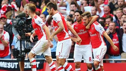 Arsenal 2-1 Crystal Palace: Thần chết Ramsey hồi sinh Pháo thủ