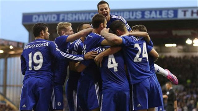 Burnley 1-3 Chelsea: Lên ngôi đầu