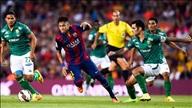 Barca 6-0 Leon: Chơi tennis trong ngày Suarez chào Nou Camp