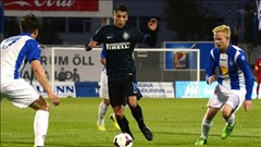 Inter Milan đặt một chân vào vòng bảng Europa League