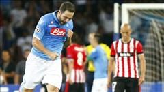 """Napoli bỗng dưng phải """"leo núi"""" sau trận hòa với Bilbao"""
