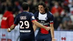 Evian vs PSG: Cờ lại đến tay Edinson Cavani