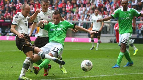 Bayern Munich vs Wolfsburg: Mồi ngon cho Hùm