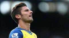 Giroud có nguy cơ lỡ trận Arsenal – Besiktas
