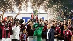 Hạ cả Juve và Sassuolo, Milan đăng quang Tim Cup