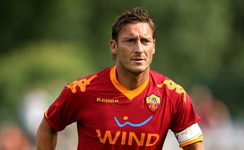 Roma và bài toán Francesco Totti!