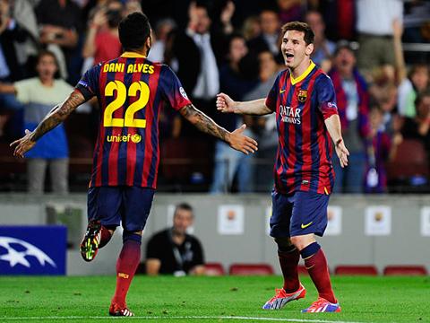Messi và Dani Alves quan trọng thế nào tại Barca?