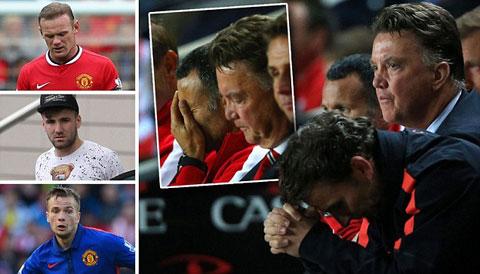 M.U bị MK Dons loại khỏi Cúp Liên đoàn: Van Gaal, niềm tin đã lung lay?