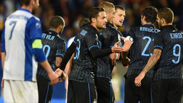 Inter Milan 6-0 Stjarnan (Chung cuộc: 9-0, lượt về vòng play-off Europa League 2014/15)