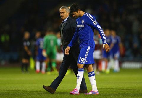 Chấn thương của Diego Costa không quá nghiêm trọng