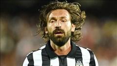 Juventus mất Pirlo 1 tháng