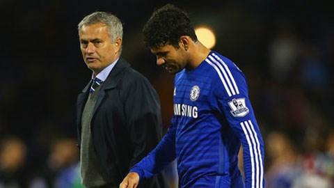 HLV Mourinho đau đầu tìm kiếm phương án thay thế Costa