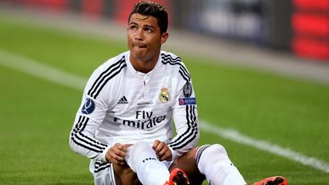 Ronaldo khả năng sẽ vắng mặt ở trận đấu cuối tuần này