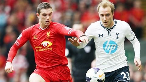 Gặp lại Liverpool, Eriksen (phải) và đồng đội đang rất tự tin và đặt mục tiêu đòi nợ