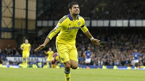 Diego Costa tỏa sáng trong chiến thắng tưng bừng của Chelsea