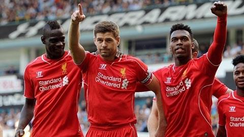 Liverpool đã có chiến thắng ấn tượng trước Tottenham