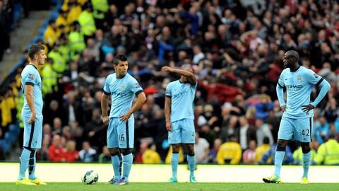 Man City nhận thất bại cay đắng trên sân nhà