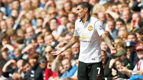 Di Maria đã chơi tốt, nhưng những vệ tinh quanh anh tại Man United lại chưa thực sự là chính mình