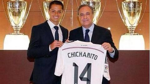 Chicharito đã là người của Real