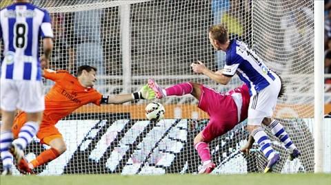 Sự chủ quan sau 2 bàn thắng sớm khiến Real trả giá đắt khi bị Sociedad ngược dòng đánh bại 4-2