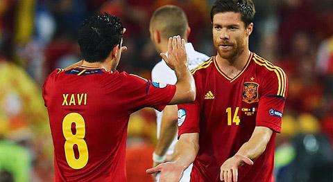 Ai sẽ thay Xavi và Alonso ở tuyển Tây Ban Nha?