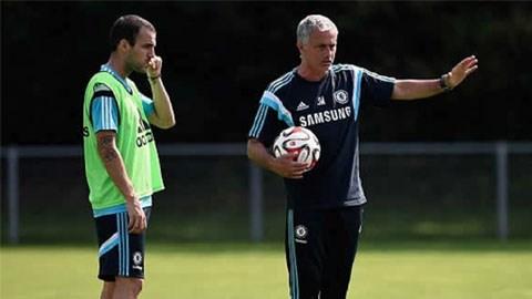 Fabregas được Mourinho tin tưởng