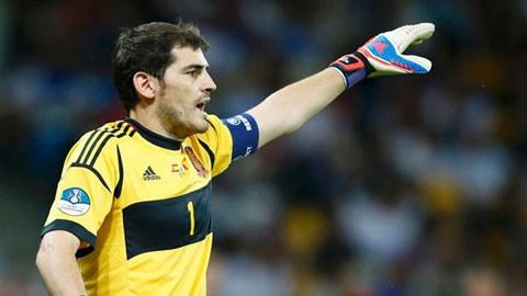 Casillas sẽ bắt chính ở trận tới