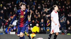 Messi hướng tới bàn thắng thứ 400