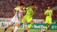 Chùm ảnh U19 Việt Nam quyết chiến U19 Nhật Bản tại Mỹ Đình