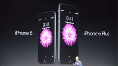 Apple ra mắt iPhone 6, iPhone 6 Plus và Apple Watch