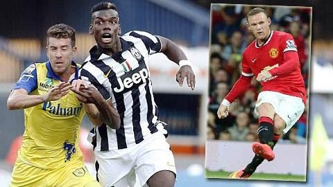 Pogba không được đãi ngộ xứng đáng tại Juventus