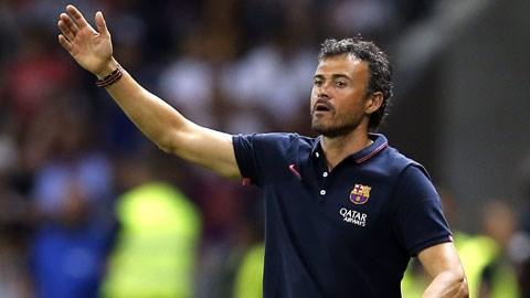 HLV Luis Enrique đang thổi vào Barca tinh thần của những chiến binh