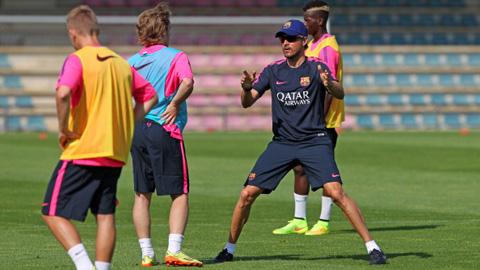 Sút xa giờ lại là vũ khí tấn công của Barca