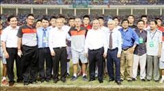 Nhiều lãnh đạo Đảng và Chính phủ dự khán U19 Việt Nam
