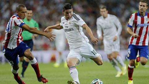 James Rodriguez liệu có tỏa sáng để giúp Real có chiến thắng?