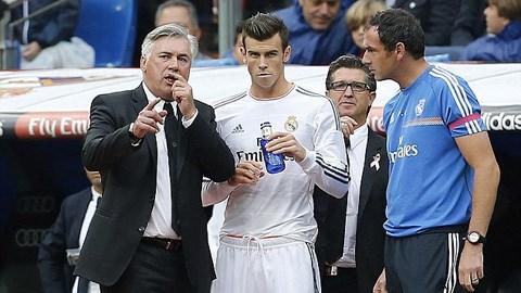 HLV Ancelotti sẽ xếp Bale đá vị trí mới ở Real