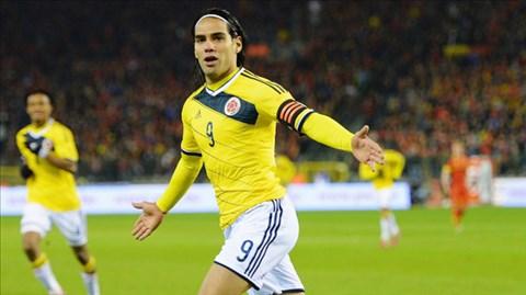 """Không chỉ ở ĐT Colombia mà ở các CLB như Porto, Atletico Madrid hay Monaco, Falcao luôn làm tốt vai trò """"tiền đạo toàn năng""""."""