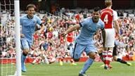 Arsenal 2-2 Man City: Rượt đuổi ngoạn mục