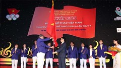 Đoàn Thể thao Việt Nam xuất quân dự Asiad 17