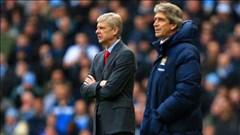"""Đại chiến Arsenal vs Man City: """"Nhắm mắt"""" mà xem!"""