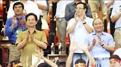 Thủ tướng Nguyễn Tấn Dũng và nhiều lãnh đạo dự khán trận chung kết