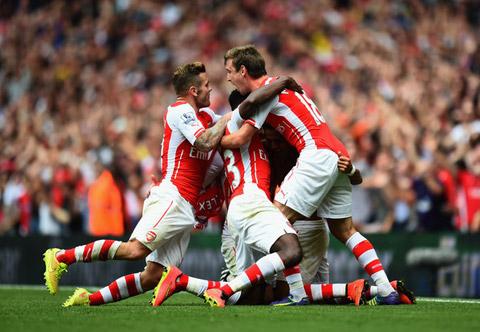 Arsenal đã thể hiện được bản lĩnh đại chiến