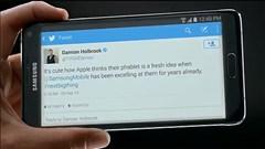 Samsung chế giễu Apple chỉ là kẻ học mót