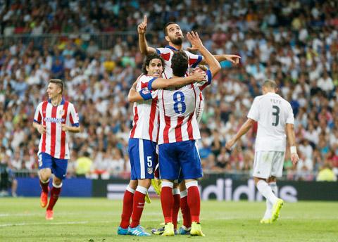 Bây giờ, El Derbi là của Atletico!