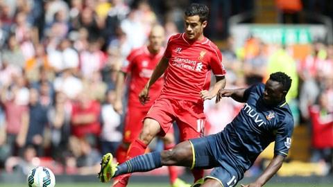 Coutinho (trái) sẽ cùng Liverpool ghi dấu ấn ngay ở mùa giải trở lại?
